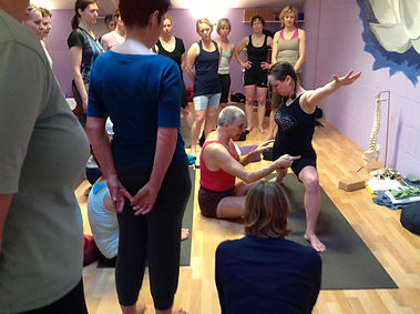 Teachers Training at the BKS Iyengar Yoga Centre ...