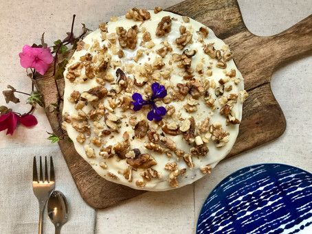 THE ULTIMATE CARROT CAKE: WHIP IT, WHIP IT REAL GOOD