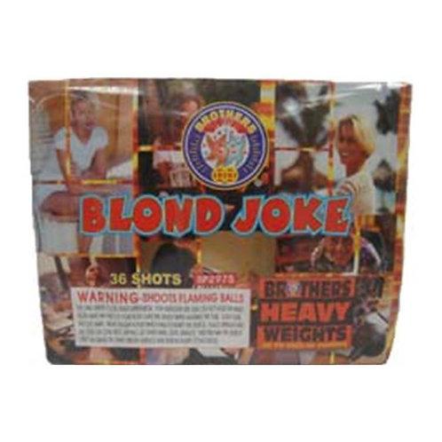 BLOND JOKE - 36 SHOT
