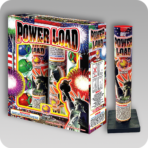 POWER LOAD ARTILLERY SHELL