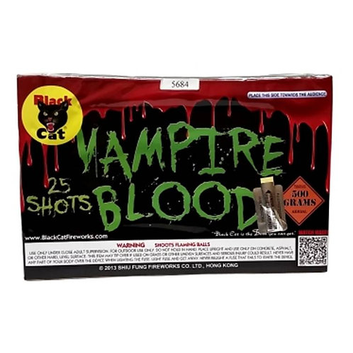 BLACK CAT VAMPIRE BLOOD 25 SHOT