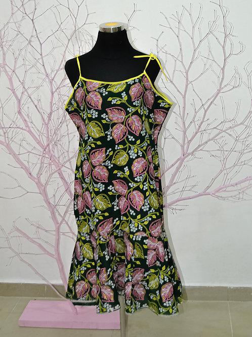 Ankara Sleeveless Dress
