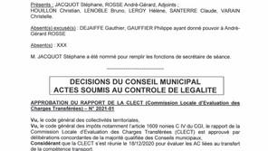 Information : Compte rendu Conseil Municipal du 08 Avril 2021