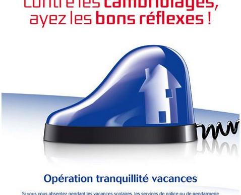 Information : Opération tranquillité Vacances