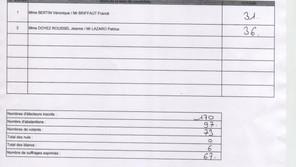 Information : Résultat élections départementales