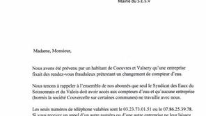 Information : communication SESV