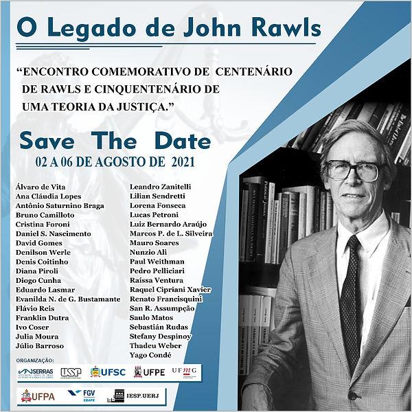 FLYER - Save The Date O legado de Rawls