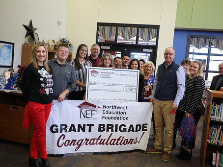 Friday the 13th Proves Lucky NEF Awards $110,000 to Educators in NISD!