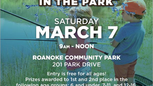 Roanoke fishing in the Park