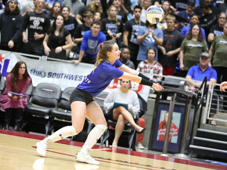 Congrats to Byron Nelson's Paige Flickinger, two time Gatorade Texas Volleyball Player of the Year!