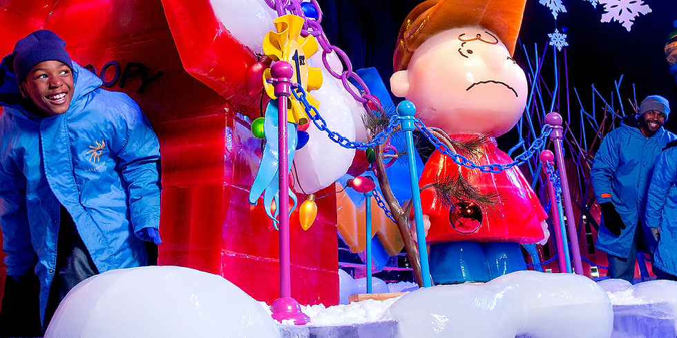 Gaylord-ICE! Featuring A Charlie Brown Christmas