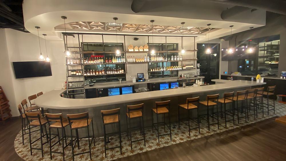 Los Compadres bar area