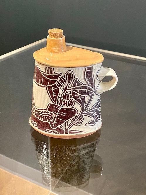Irish Flask - Sarah Anderson Ceramics
