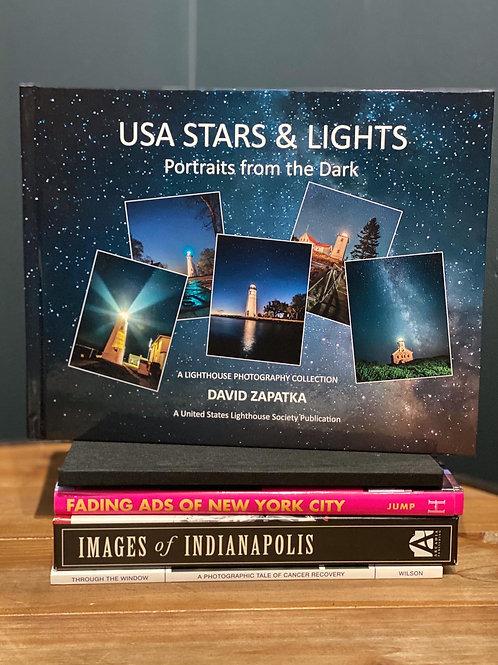 USA Stars and Lights