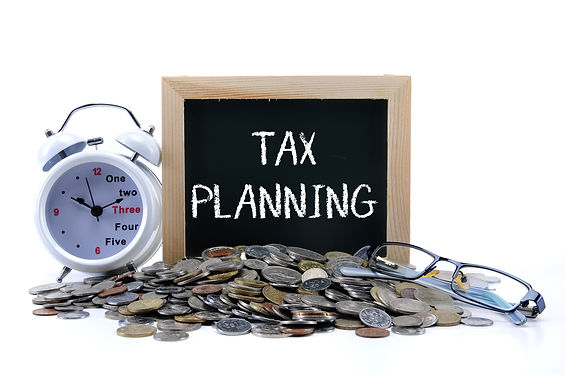 Tax concept with text TAX PLANNING.jpg