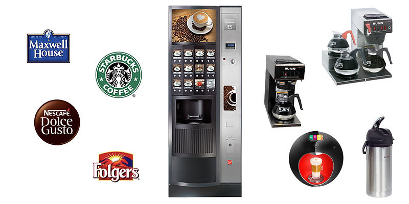 Office Coffee Service Options through Karolina Vending