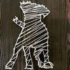 String Art Doggy Crafticity Craft Class Greenville SC