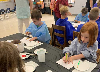 Private Event Kids Hands Crafticity Craft Class Greenville SC
