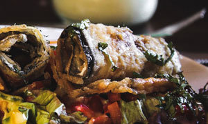 Mediterranean Meal - Incl. Eggplant, Potatoes, Veggie Couscous & Greek Salad