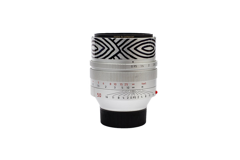 ( LENS ONLY ) Leica Noctilux-M 50mm f/0.95 ASPH. Lens (Silver) 1/1