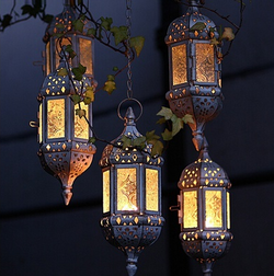 Moroccan lanterns hunter gatherers gisborne
