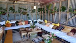Morrocan room harem hangout pallet wood furniture hunter gatherers2