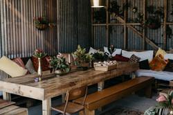 Pallet furniture Gisborne hire