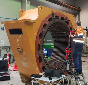 3D Scanning the Stator