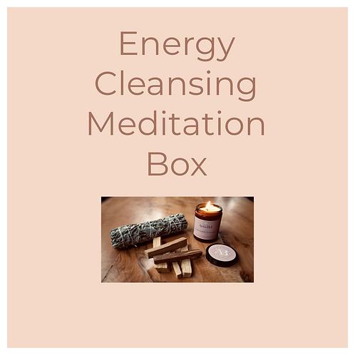 Energy Cleansing Meditation Box