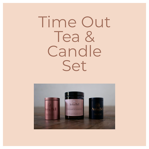 Time Out Tea & Candle Set