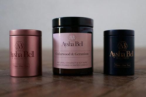 Candle and Tea Set