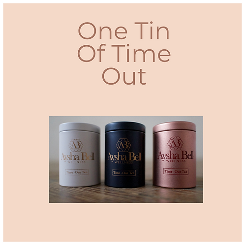 One Tin of Time Out Tea