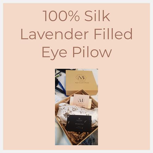 Silk Lavender Eye Pillow