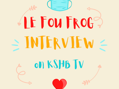 KSHB: 'We don't take it for granted': Le Fou Frog celebrates 25 years in Kansas City amid pandemic