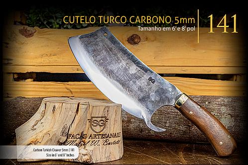 CUTELO TURCO CARBONO 5MM