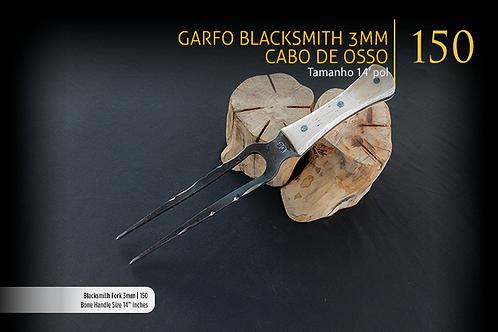 Garfo Blacksmith 3mm - Cabo de Osso