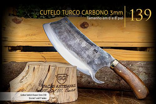 CUTELO TURCO CARBONO 3MM