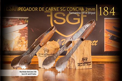Pegador de Carne SG Concha 2mm