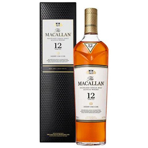 Macallan 12 Year Old Single Malt Sherry Oak