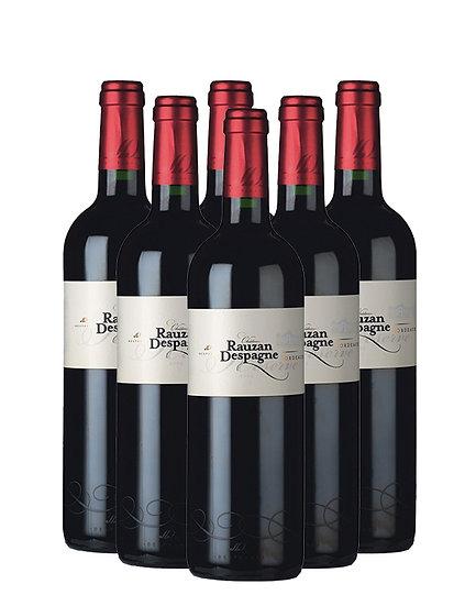 Château Rauzan Despagne Bordeaux Réserve Rouge 2013 (6 bottles)
