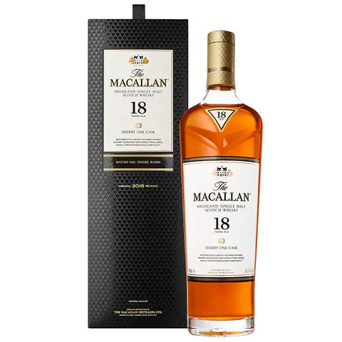 Macallan 18 Year Old Single Malt Sherry Oak