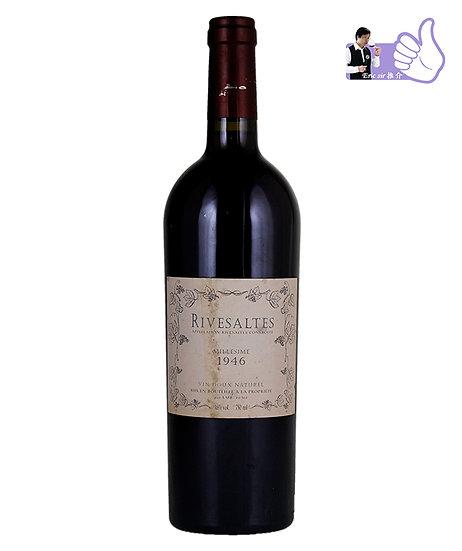 Rivesaltes, languedoc roussillon, Vin Doux Naturel, France 1946/48