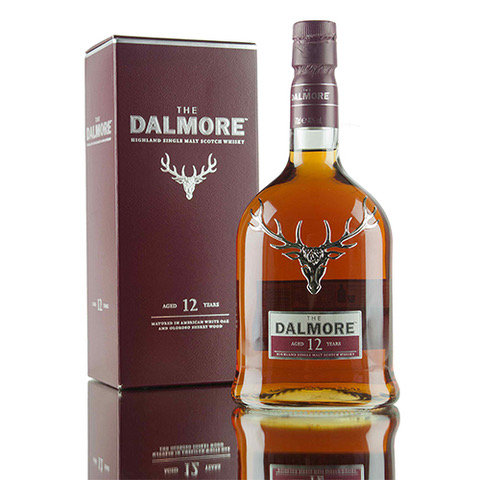 Dalmore 12 Year Old Single Malt Scotch Whisky