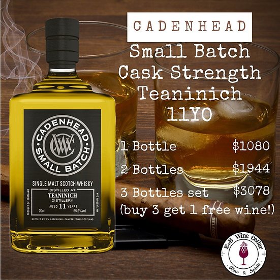 Cadenhead Small Batch 11yo