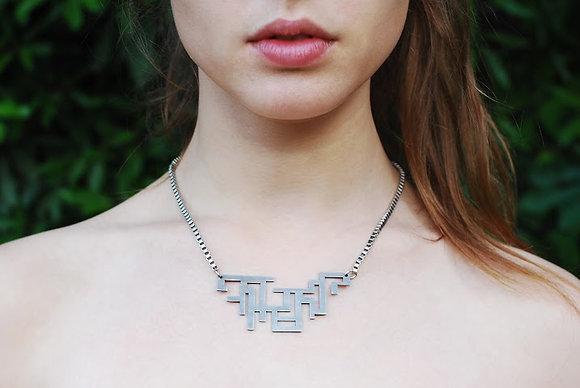 Maze necklace
