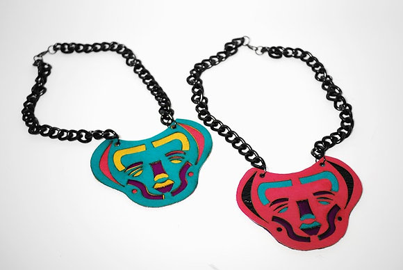 Mola necklace