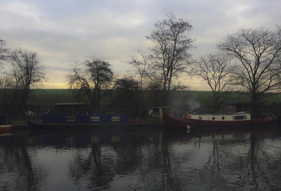 tottenham canal in january