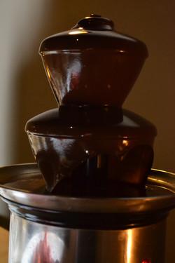 Cascada de chocolate