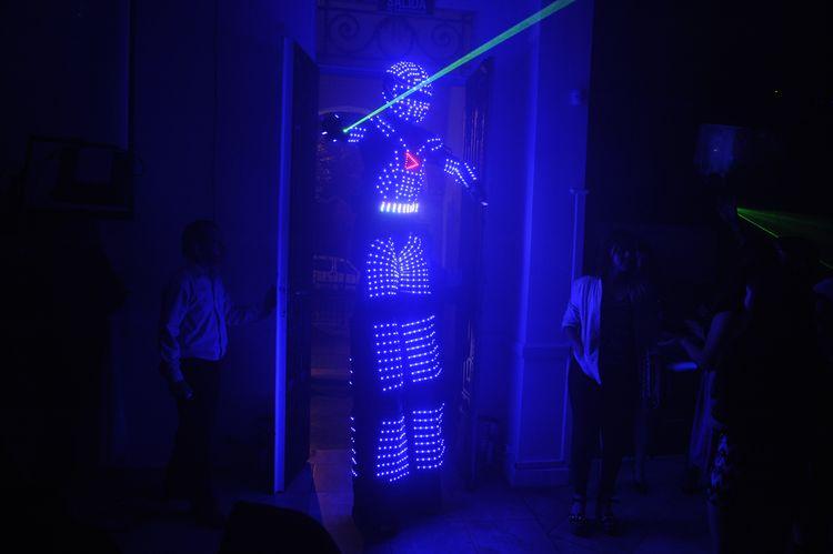 Robot Led 4