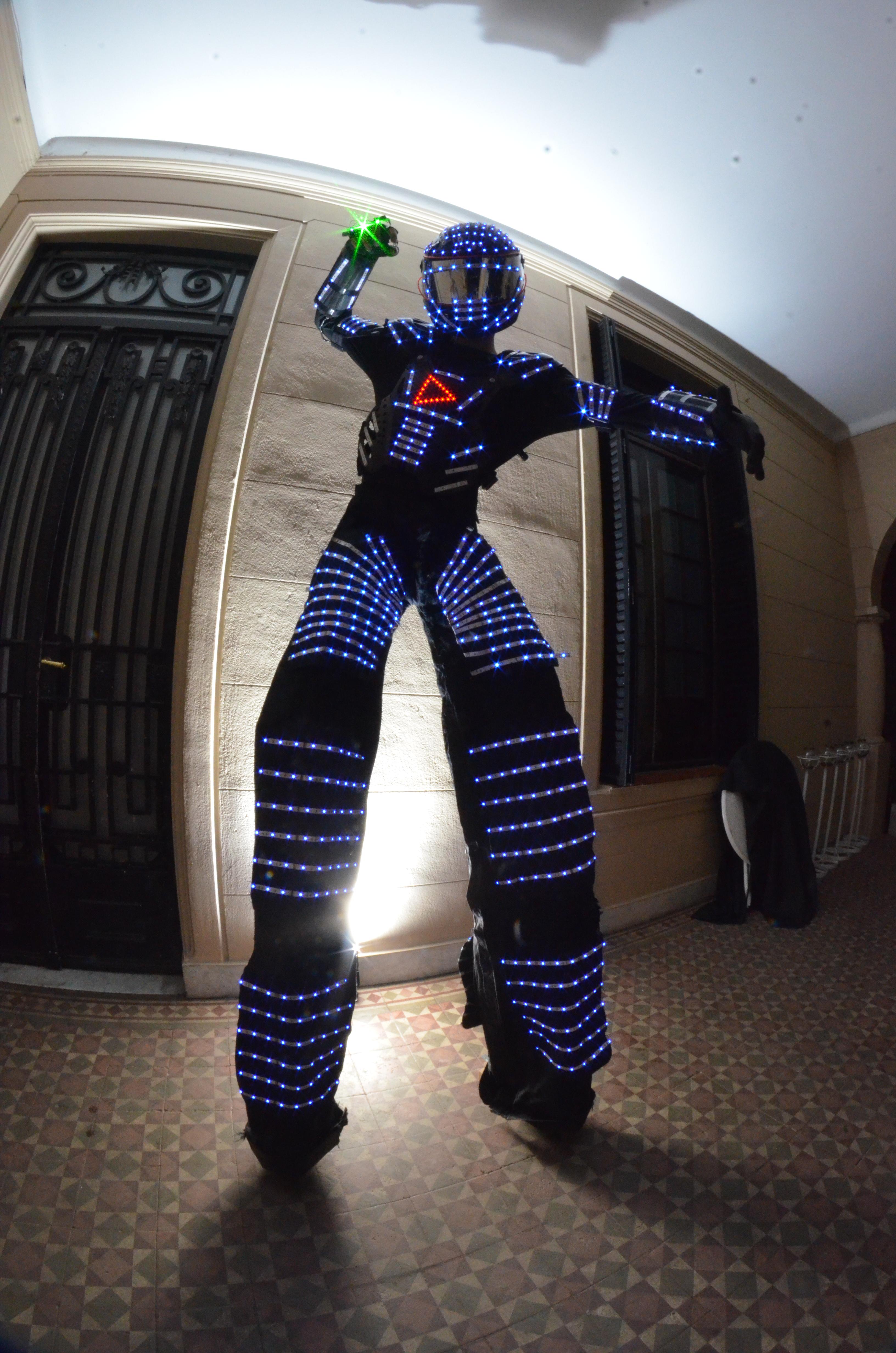 Robot Led 9